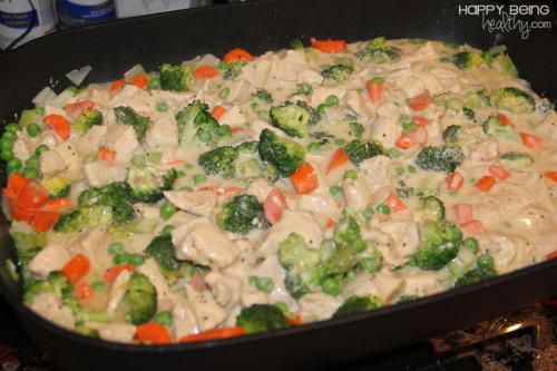 hogyan készítsünk csirkét zöldséggel az étrendre remix